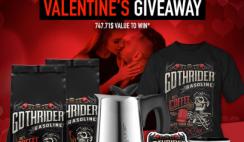 GothRider Coffee Valentine's Giveaway