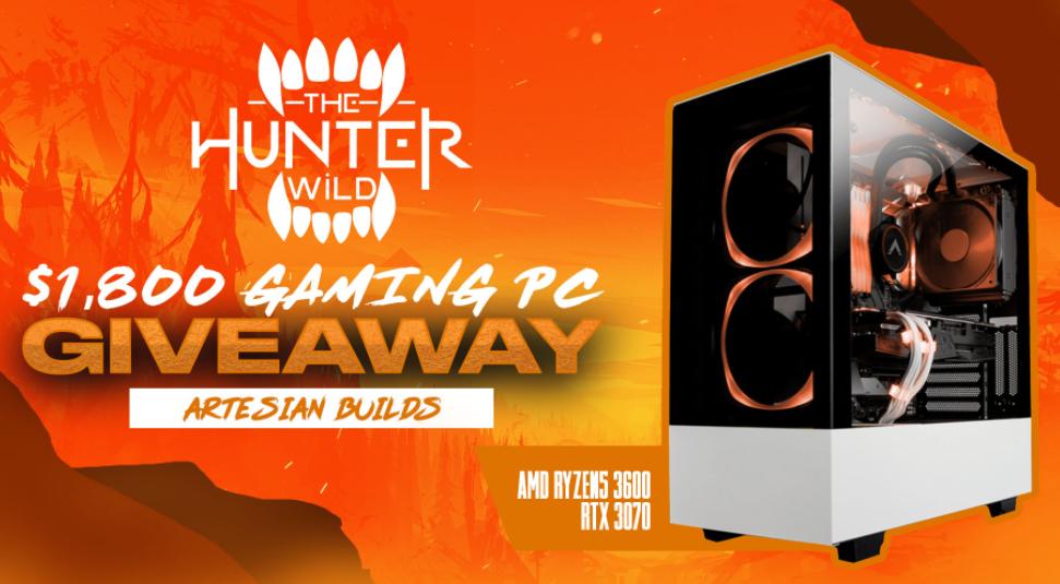 Hunter Wild Gaming PC Giveaway