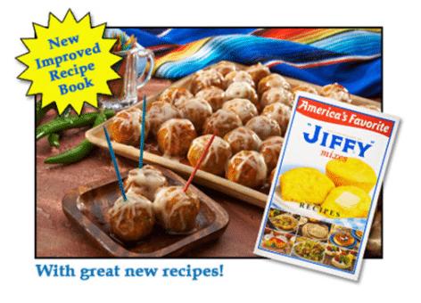 FREE Jiffy Mix Recipe Book