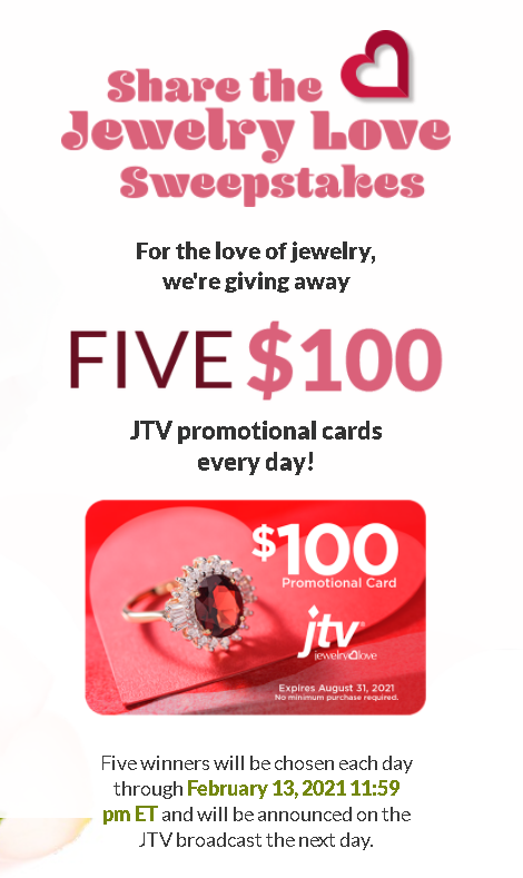 JTV Share the Jewelry Love Giveaway