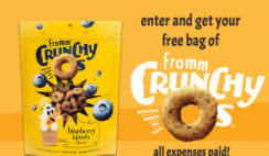 Win a Year of Fromm Dog Food and Get FREE Dog Treats - 1st 1,500!