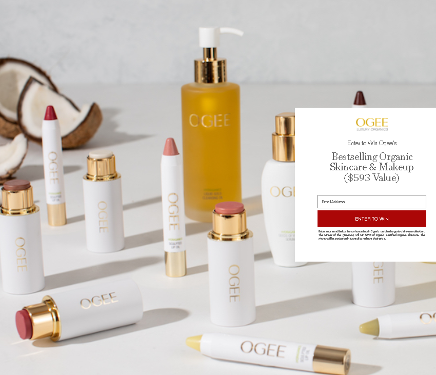 Ogee's Beauty Giveaway