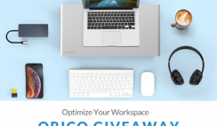 Orico Home Office Setup Giveaway
