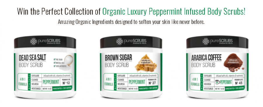 Peppermint Body Scrubs Giveaway