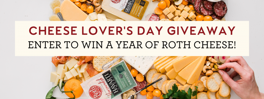 Cheese Lover's Day Giveaway