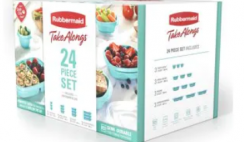 DEAL: $1.50 Rubbermaid 24 Piece Food Storage