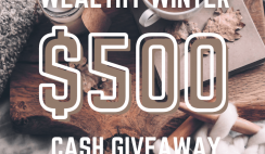 Win theWealthy Winter $500 Cash Giveaway