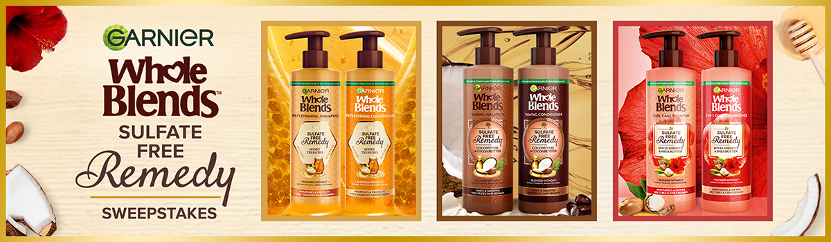 Garnier Whole Blends Sulfate Free Remedy Giveaway