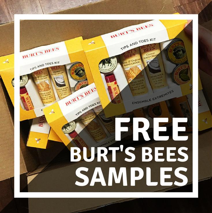 FREE Burts Bees Samples