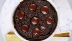 1 Minute Microwave Mug Brownie