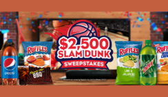 $2500 Slam Dunk Sweepstakes