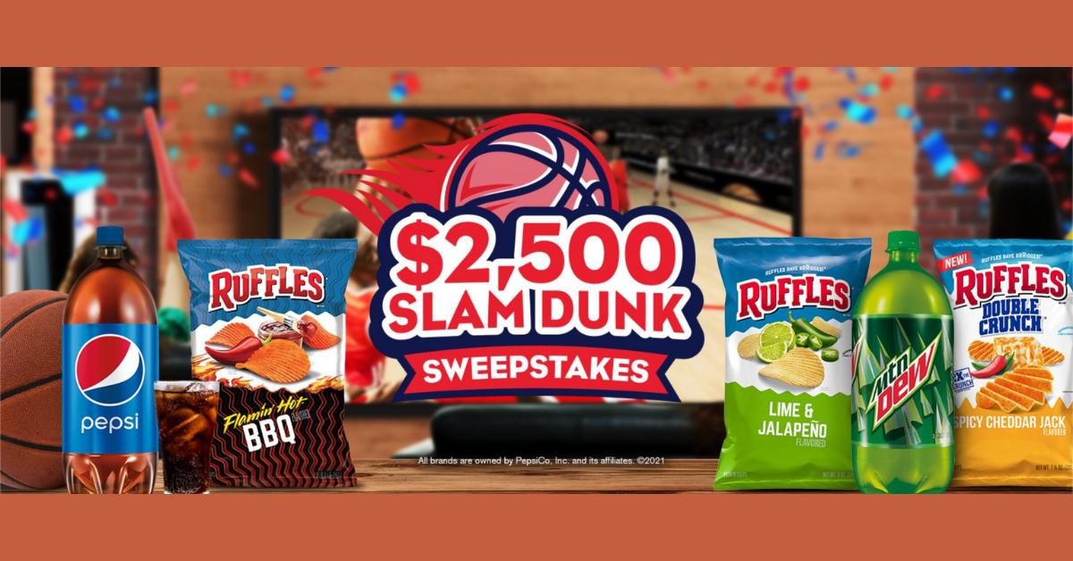$2500 Slam Dunk Sweepstakes