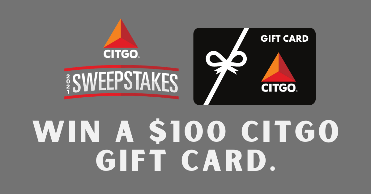 Citgo $100 Gift Card Sweepstakes