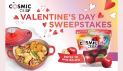 Cosmic Crisp Valentines Day Sweepstakes