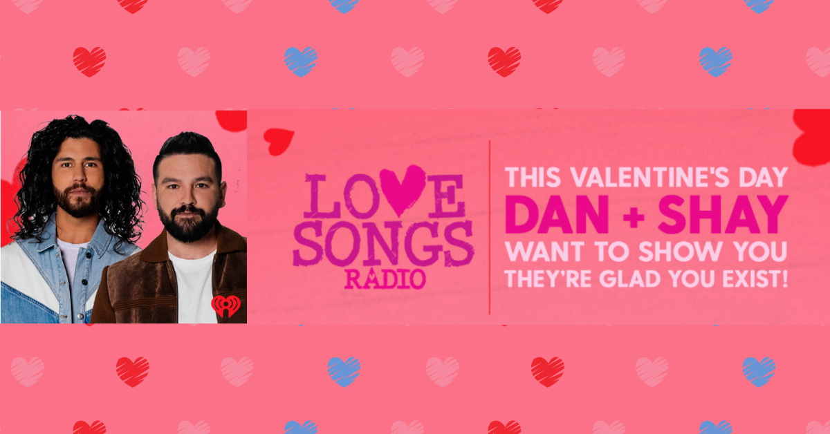Dan and Shay Want To Show You They're Glad You Exist Sweepstakes