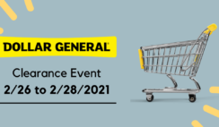 Dollar General Clearance Event