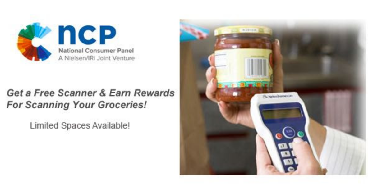Earn Freebies For Shopping With National Consumer Panel