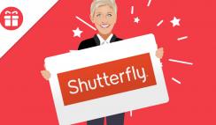 Ellens $500 Shutterfly Gift Card Giveaway