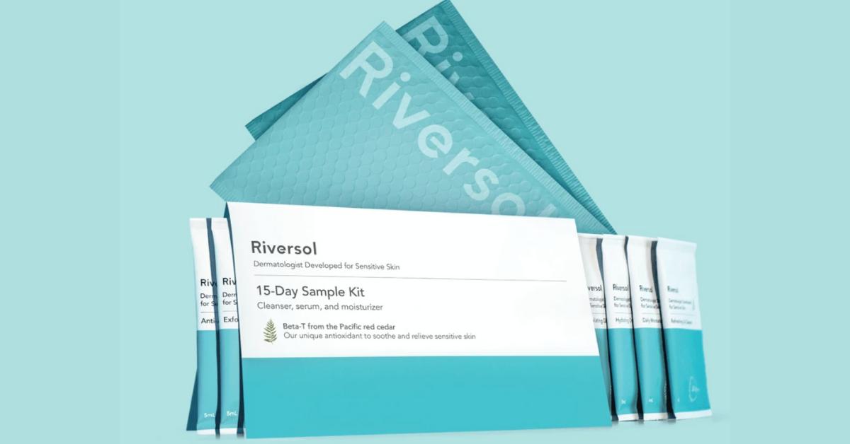 FREE 15 Day Riversol Skincare Kit