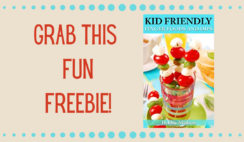 FREE 50 Kid Friendly Finger Foods Recipe Book
