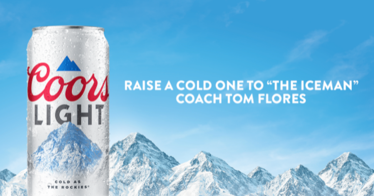 FREE 6-Pack Of Coors Light