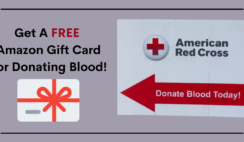 FREE Amazon Gift Card from The Red Cross