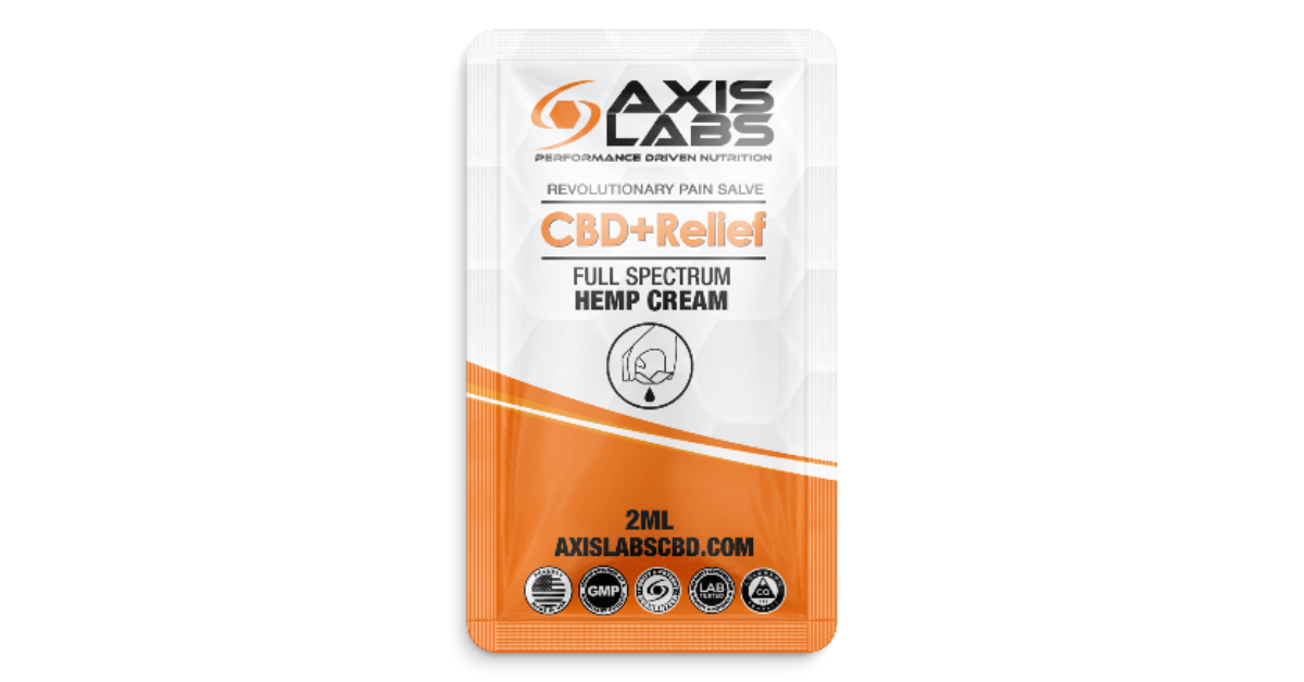 FREE CBD Relief Snap Card