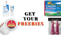 FREE Cerave FREE Coffee Pods FREE Nexxus And FREE Claritin