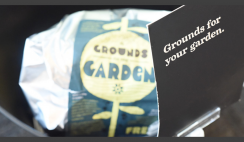 FREE Coffee Grounds For Your Garden At Starbucks