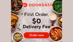 FREE Delivery With DoorDash