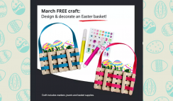 FREE Easter Basket Craft Kit at JCPenney