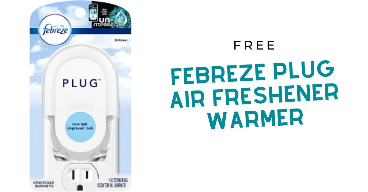 FREE Febreze Plug Air Freshener Warmer