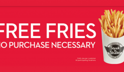 FREE Fries At Steak N Shake