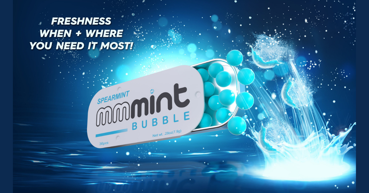 FREE MMMint Spearmint Bubble Mints