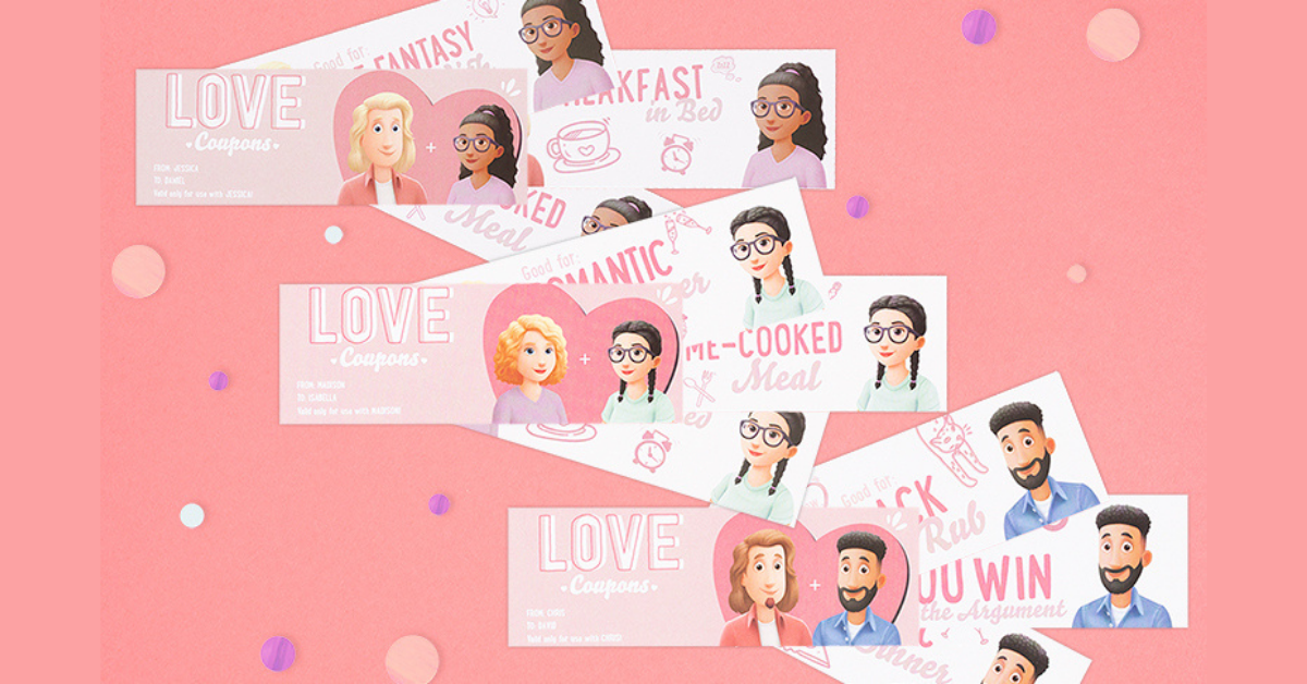 FREE Personalized Love Coupons