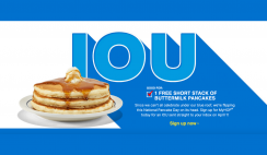 FREE Short Stack Of Buttermilk Pancakes At IHOP