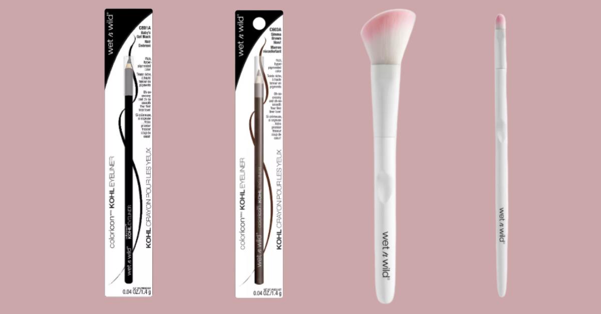 FREE Wet N Wild Eyeliner and Brushes at Target
