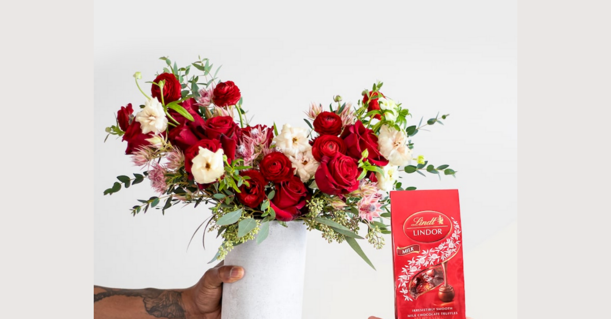 Farmgirl Flowers Bouquet and a Year Supply of Lindt Chocolates Giveaway