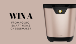 Fromaggio Smart Home Cheesemaker Giveaway