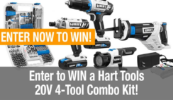 Hart Tools Combo Kit Giveaway