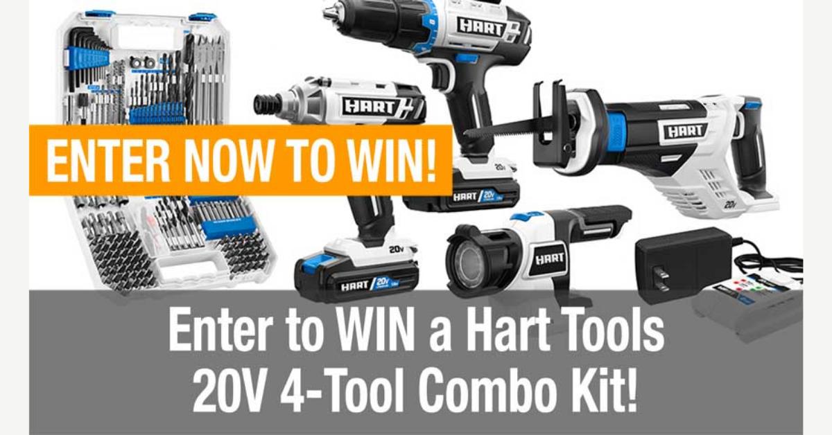 Hart Tools Combo Kit Giveaway