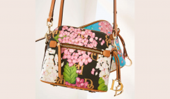 Hydrangea Monogram Dooney Bourke Bag Giveaway