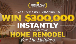 Instant Play Giveaway $300K Sweepstakes