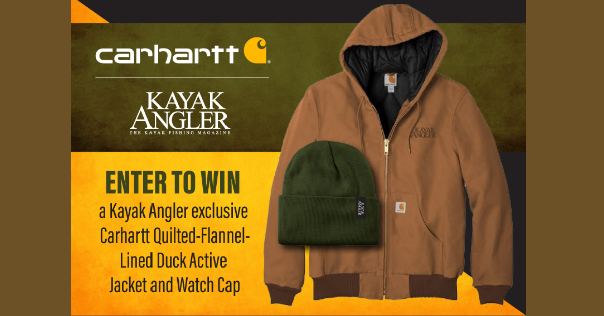 Kayak Angler Magazine Giveaway