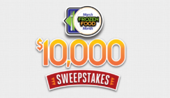 March Frozen Food Month $10K Sweepstakes