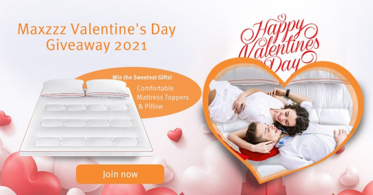 Maxzzz Valentines Day Giveaway 2021