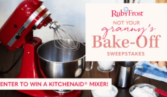 Not Your Grannys Bake Off Sweepstakes WEBFI
