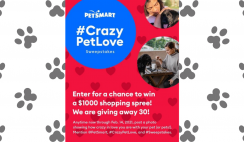PetSmart Crazy In Love With Pets Sweepstakes