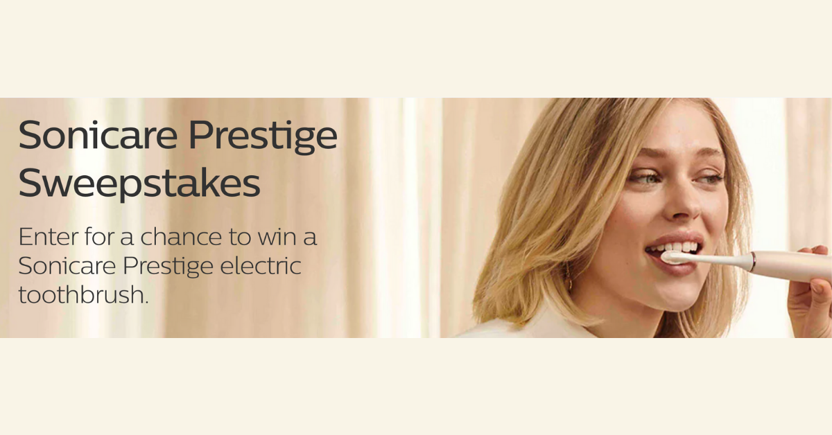 Philips Sonicare Prestige Sweepstakes