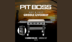 Pit Boss 5 Burner Deluxe Griddle Giveaway